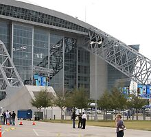 """Dallas Cowboy Stadium"" by MicHardin"