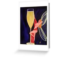 Champagne Fairy Greeting Card