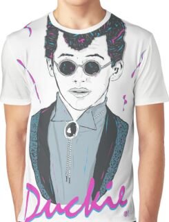 Pretty In Pink - Duckie Graphic T-Shirt