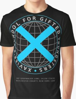 Xavier's School for Gifted Youngsters Graphic T-Shirt