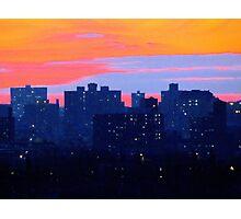 Blue City Photographic Print
