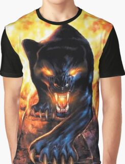 panthere fire Graphic T-Shirt