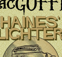 MacGuffin Brewery - Haines' Lighter Lager Sticker