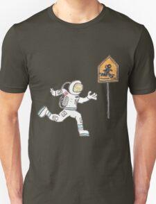Astronaut Crossing T-Shirt