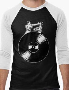 Vinyl Fight Men's Baseball ¾ T-Shirt