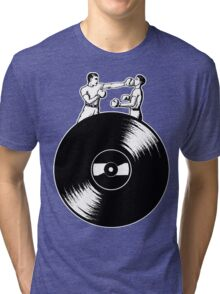 Vinyl Fight Tri-blend T-Shirt