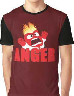 Anger Inside out Graphic T-Shirt
