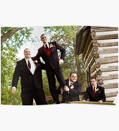 Groom and his boys Poster