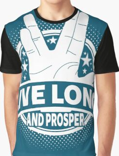 Live Long And Prosper Graphic T-Shirt