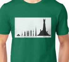 In The Shadow of Barad-dur Unisex T-Shirt