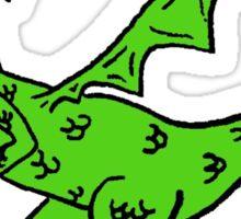 Cracker Dragon Sticker