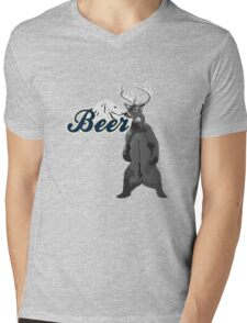 Beer Mens V-Neck T-Shirt