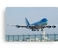 Air Force One Lifts Off from KCLE January 2012 Canvas Print