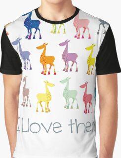 The Llamas are coming Graphic T-Shirt