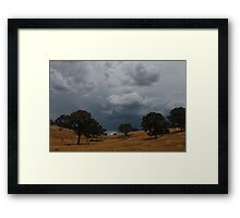 Crossing the Great Divide Framed Print