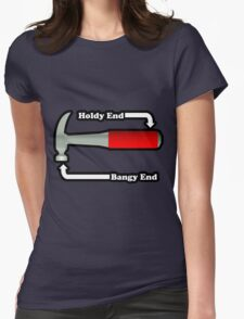 Hammer Ends Womens Fitted T-Shirt