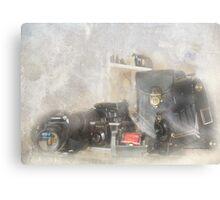 Five Cameras Canvas Print