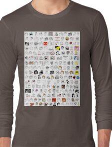 Meme Collage Long Sleeve T-Shirt