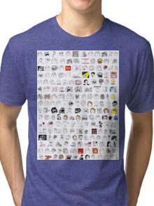 Meme Collage Tri-blend T-Shirt