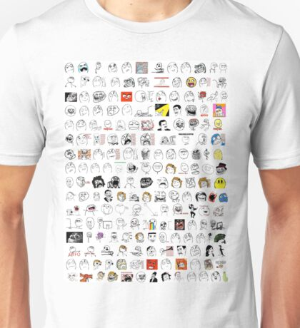 Meme Collage Unisex T-Shirt