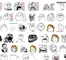 Meme Collage Sticker