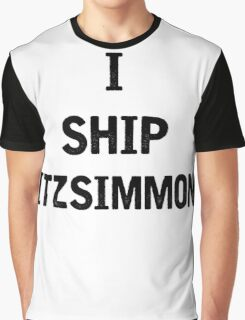 I Ship Fitzsimmons Graphic T-Shirt