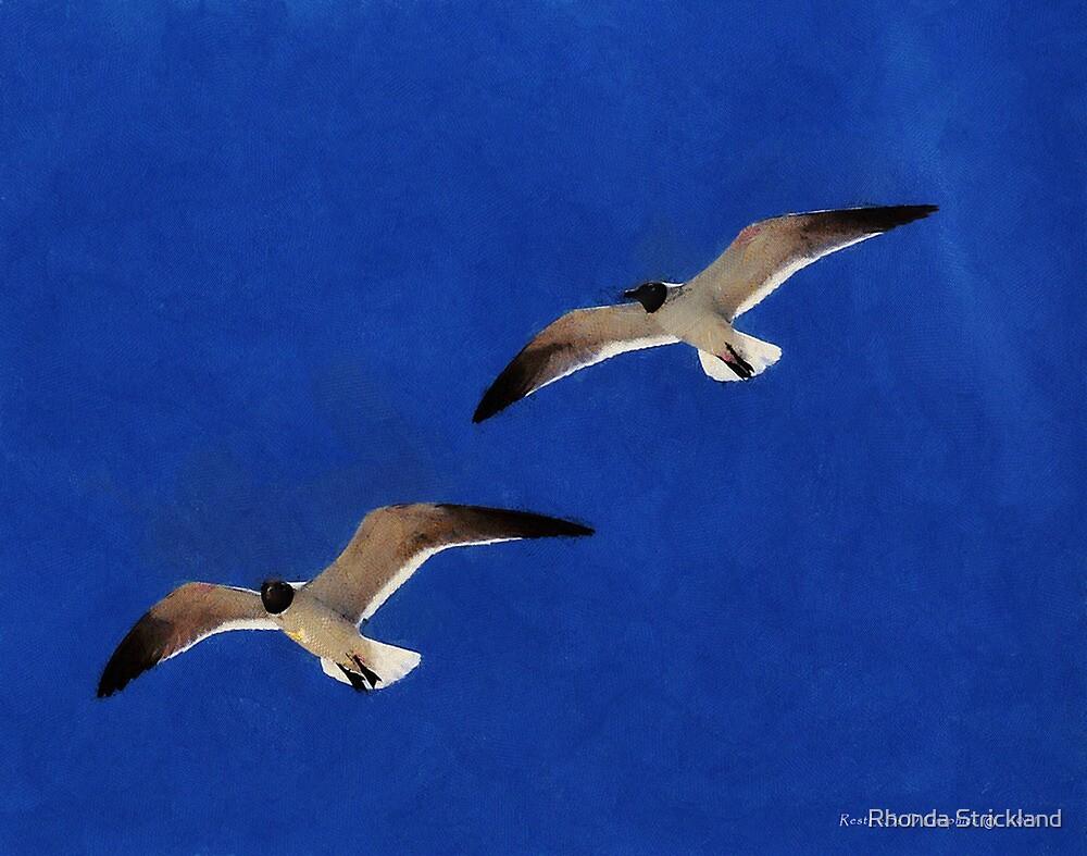 Soaring Way Up High by Rhonda Strickland