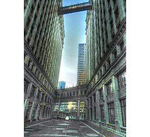Wrigley Building at Sunrise Photographic Print
