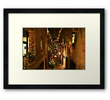 Mini Market Framed Print