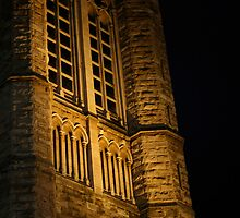 St. Andrew's Cathedral at night by ZWC Photography