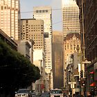 San Francisco downtown by Daniel Tobin