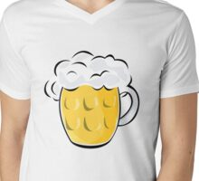 Pint Mens V-Neck T-Shirt