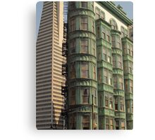 Two San Francisco icons Canvas Print