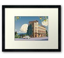 Lopdell House, Titirangi. Framed Print