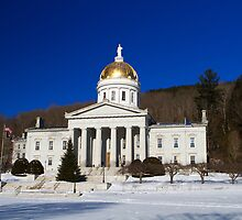 The People's House - Montpelier, Vermont by Mark Van Scyoc