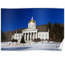 The People's House - Montpelier, Vermont Poster