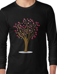 Pink tree Long Sleeve T-Shirt