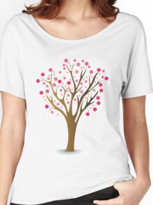 Pink tree Women's Relaxed Fit T-Shirt