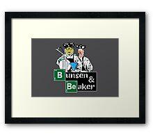 Bunsen & Beaker Framed Print