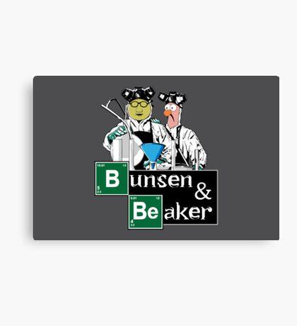 Bunsen & Beaker Canvas Print