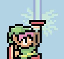 The Pixel of Zelda by Painhax
