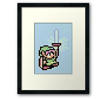 The Pixel of Zelda Framed Print