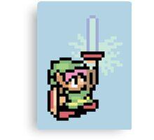 The Pixel of Zelda Canvas Print