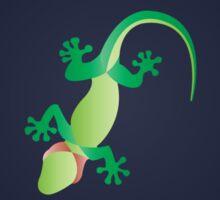 Minimalist Gecko Sticker