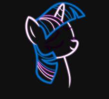 Neon Twilight Outline Unisex T-Shirt