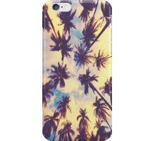 Palm Tree Look Up  iPhone Case/Skin