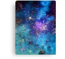 RHAPSODY OF STARS in G Major Canvas Print