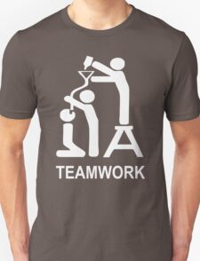 TEAM WORK funny T-Shirt