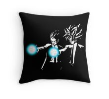 DBZ Fiction Throw Pillow