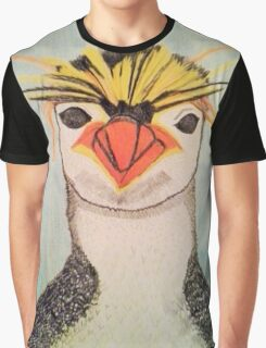 Rock Hopper Penguin Graphic T-Shirt